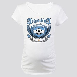Argentina 2010 World Soccer Maternity T-Shirt