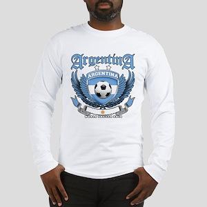 Argentina 2010 World Soccer Long Sleeve T-Shirt
