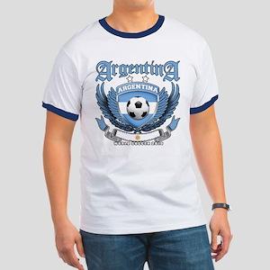 Argentina 2010 World Soccer Ringer T