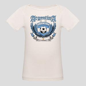 Argentina 2010 World Soccer Organic Baby T-Shirt