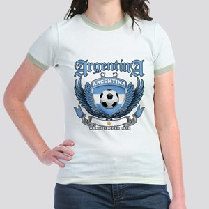 Argentina 2010 World Soccer Jr. Ringer T-Shirt