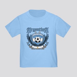 Argentina 2010 World Soccer Toddler T-Shirt