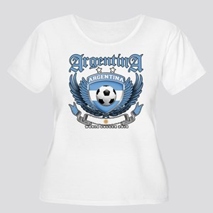 Argentina 2010 World Soccer Women's Plus Size Scoo