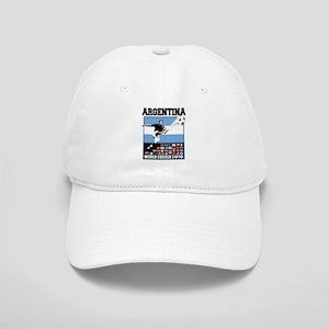 Argentina World Soccer Goal Cap