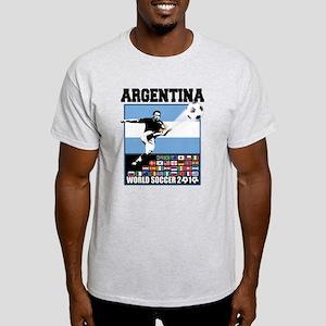 Argentina World Soccer Goal Light T-Shirt