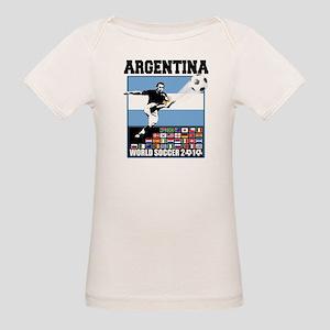 Argentina World Soccer Goal Organic Baby T-Shirt