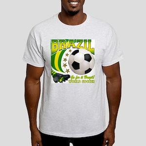Brazil Soccer Goal Kick 2010 Light T-Shirt