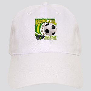 Brazil Soccer Goal Kick 2010 Cap