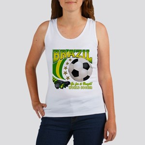 Brazil Soccer Goal Kick 2010 Women's Tank Top