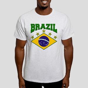 Brazil Soccer Flag 2010 Light T-Shirt