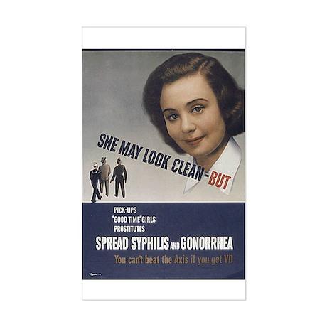 Sexual Propaganda Sticker (Rectangle)