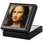 Modern Mona Lisa Keepsake Box