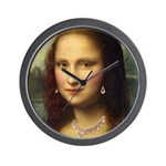Modern Mona Lisa Wall Clock