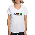 8ONE8, Inc. Women's V-Neck T-Shirt