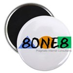 """8ONE8, Inc. 2.25"""" Magnet (10 pack)"""