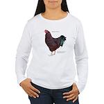 Buckeye Chicken Women's Long Sleeve T-Shirt