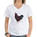 Buckeye Chicken Women's V-Neck T-Shirt