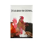 """""""It's All...chickens..."""" Rectangle M"""
