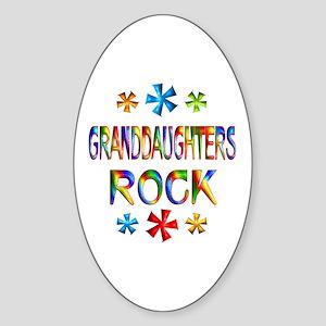 Granddaughter Sticker (Oval)