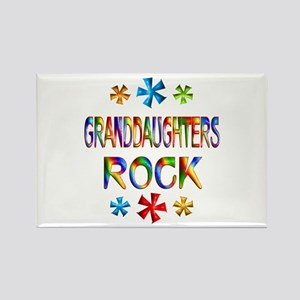 Granddaughter Rectangle Magnet