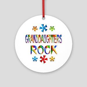 Granddaughter Ornament (Round)