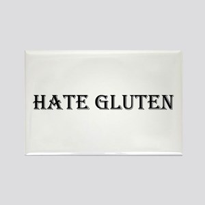 HATE GLUTEN Rectangle Magnet