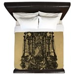 Hertel Ripa Iconologia Death King Duvet Cover