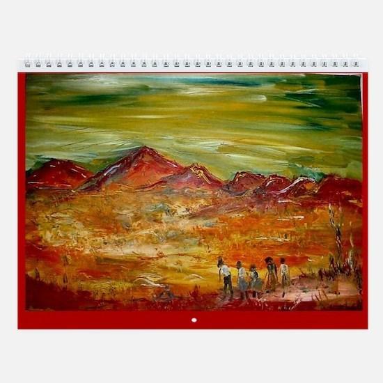 Red Sands Wall Calendar 2006