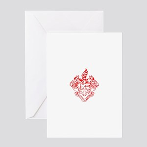 Pi Crest Greeting Card