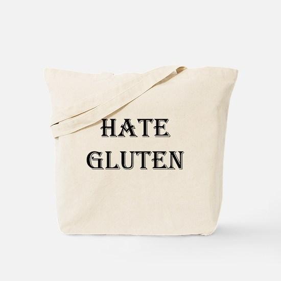 HATE GLUTEN Tote Bag