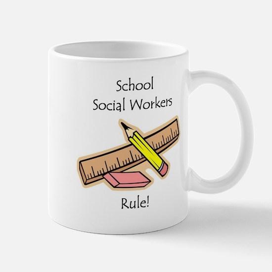 Social Workers Rule Mug