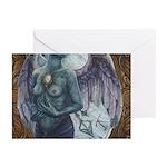 Make-Shift Angel III Greeting Cards (Pk of 10)