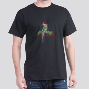 Christmas Budgie Dark T-Shirt