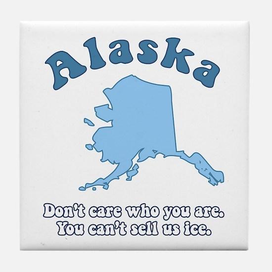Vintage Alaska Tile Coaster