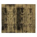 Shroud Of Turin King Of King Duvet Cover