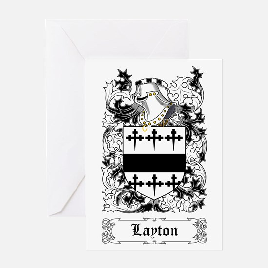 Layton I Greeting Card