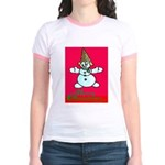 New Orleans Christmas Jr. Ringer T-Shirt