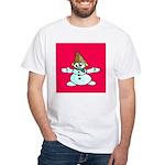 New Orleans Christmas White T-Shirt