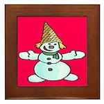 New Orleans Christmas Framed Tile