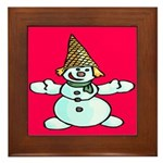 New Orleans Christmas Framed Tile