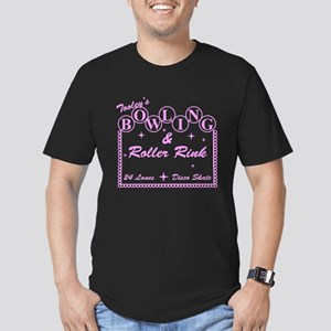 Tooley's Bowling & Roller Rin Men's Fitted T-Shirt