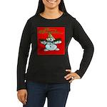 New Orleans Christmas Women's Long Sleeve Dark T-S