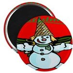 New Orleans Christmas Magnet