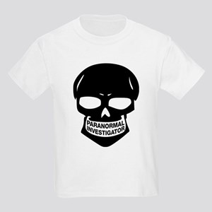 Paranormal Investigator Kids Light T-Shirt