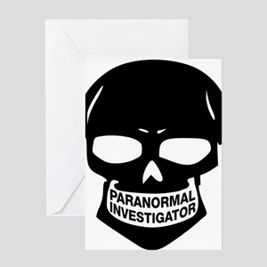 Paranormal Investigator Greeting Card