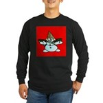 New Orleans Christmas Long Sleeve Dark T-Shirt