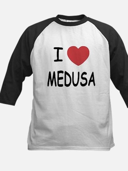 I heart Medusa Kids Baseball Jersey