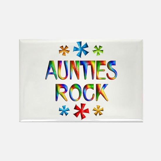 Auntie Rectangle Magnet