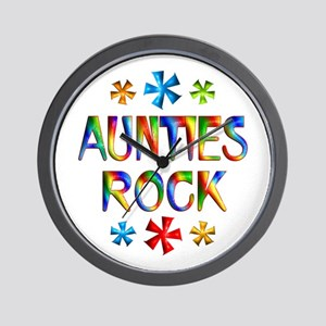 Auntie Wall Clock