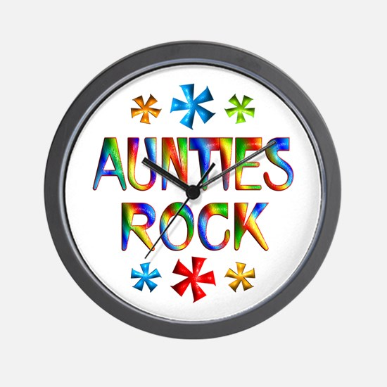 Auntie Wall Clock